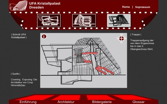 UFA Kristallpalast - Blaupausen