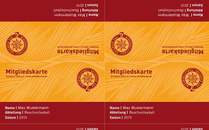 DresdnerSSV - Mitgliedskarten